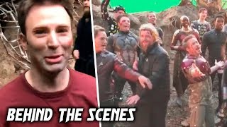 AVENGERS 4: Endgame BEHIND THE SCENES & BLOOPERS (2019) Part 1