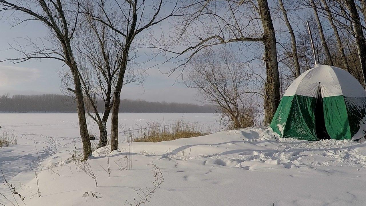 Зимой на рыбалку с ночевкой