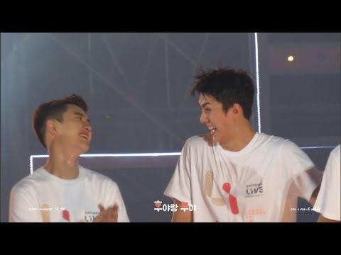 170708 SMTOWN LIVE ENDING (SEHUN FOCUS) 엔딩 세훈 스포+사랑스러움412개!.!