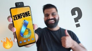 Asus 6Z Hands On & First Look - Crazy Package 🔥🔥🔥