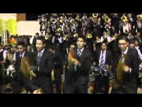 La Pendek's Band en el festival de bandas rumbo al carnaval de Oruro 2013