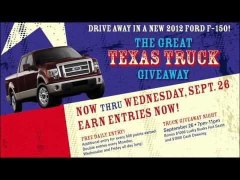 Great Texas Truck Giveaway Radio