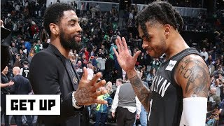 D'Angelo Russell isn't in the same conversation as Kyrie Irving – Jay Williams   Get Up
