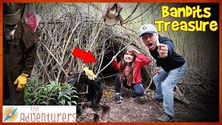 Bandits Treasure 24 HOUR CAMP STAKEOUT Found HiDDEN Tunnel / That YouTub3 Family I The Adventurers