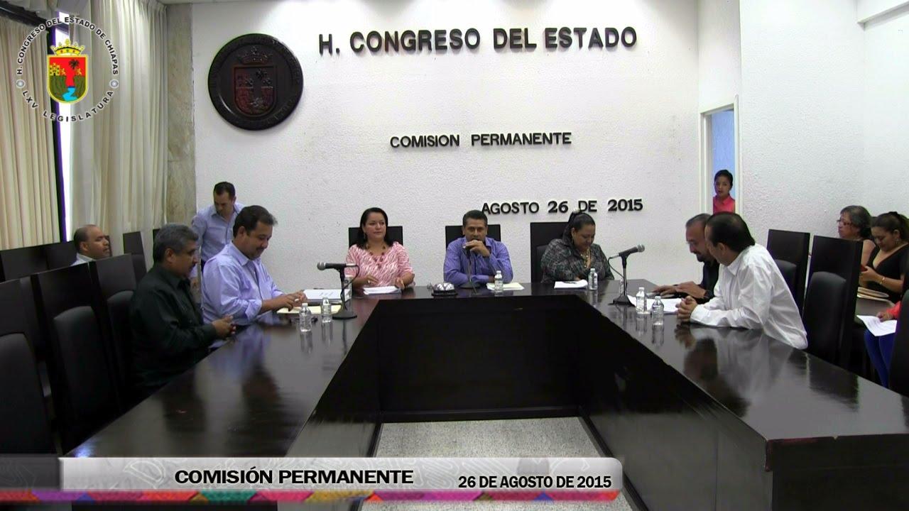 Comisión Permanente 26 de Agosto de 2015