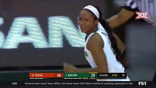 Texas vs Baylor Women's Basketball Highlights