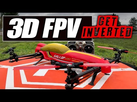 3D FPV! - Wltoys V383 500mm 3D Quad - Stingray 500 Clone - FPV, LOS, 3D REVIEW