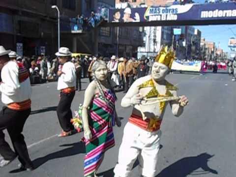 100 % de originalidad en la entrada autoctona de El Alto