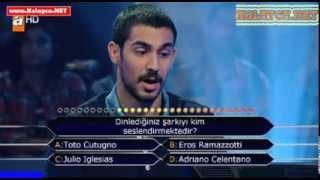 Kim milyoner olmak ister 23 Kasım 2013 287. bölüm Bahadır Koca