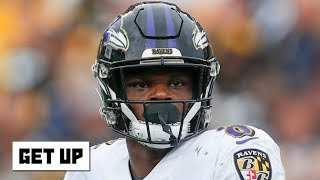 Lamar Jackson put the Ravens on his back and took over vs. the Seahawks - Dan Orlovsky | Get Up