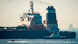 Iranian oil tanker free to set sail