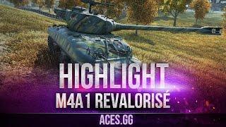 Необычная французская булка! M4A1 Revalorisé
