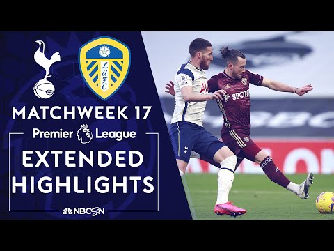 Tottenham v. Leeds United | PREMIER LEAGUE HIGHLIGHTS | 1/2/2021 | NBC Sports