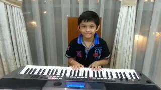 """Tum Hi Ho""( Aashiqui 2)On Keyboard By Atharva Balvalli."