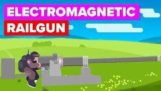 US Military's Most Powerful Cannon – Electromagnetic Railgun
