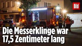 Mann tötet Freundin (20) vor Supermarkt mit 10 Messerstichen  Plattling, Bayern