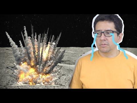 ¿Por qué es tan Difícil Aterrizar en la Luna?