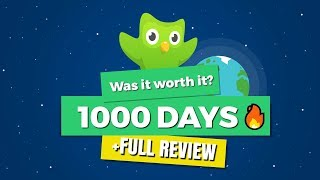 ONE THOUSAND (1000) days of Duolingo 🔥 - Was it worth it? (+FULL REVIEW)