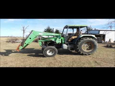 1985 Deutz 6265 tractor for sale | no-reserve Internet auction March 1, 2017
