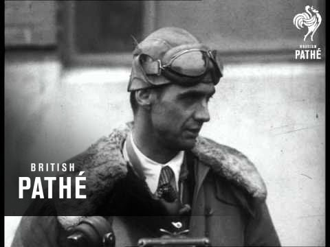 American Air Record - Interview With Pilot (1938)