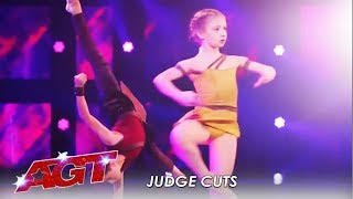 Dancing Acts Izzy & Easton vs. Adem Show On Judge Cuts   America's Got Talent 2019