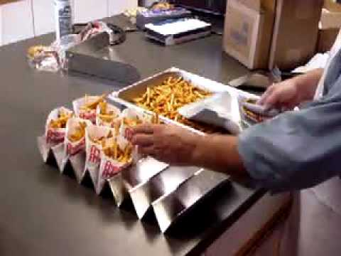 Pala para embolsar patatas fritas modelo 252