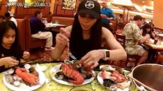 Jackson Casino Rancherita Buffet-Lobsters & Alaskan King Crab Feast with my Family