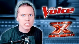 Why you shouldn't watch TV talent shows (The Voice, X-Factor, Got Talent, American Idol...)