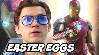 Avengers Endgame Ending Scene - Spider Man Hidden Easter Eggs Breakdown