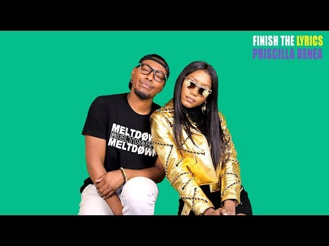 Priscilla Renea sings Mariah Carey, Fifth Harmony, & Kelly Clarkson | Finish The Lyrics!