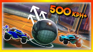 How we scored the fastest goal in Rocket League...