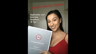 Accelerated Bachelor's Nursing and Entry Level Masters in Nursing School Interview!