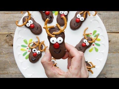 Holiday Reindeer Cookies