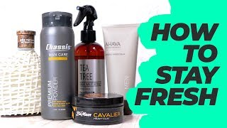 How To Stay Fresh (Favorite men's grooming products for Summer 2018)