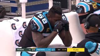 Thomas Davis devastated after his dirty hit on Davante Adams