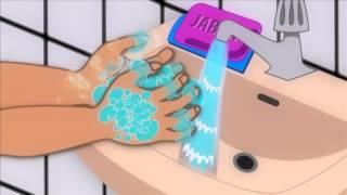 ¡Lávate las manos con agua y jabón siempre!