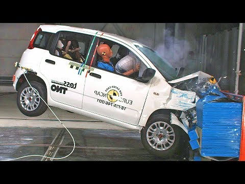 Fiat Panda (2018) ? Scores 0 Stars in the Crash Test