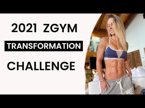 Kicking The New Year Off with ZGYM Transformation Challenge !!