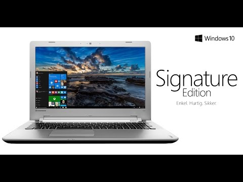 Signature Edition fra Microsoft - eksklusivt hos Elgiganten