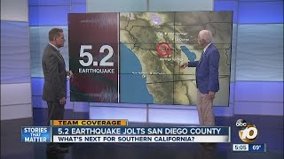 5.2 earthquake jolts San Diego County
