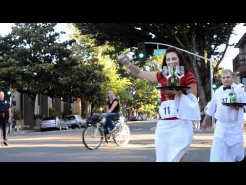 The 2nd Annual Sacramento Bastille Day Waiters' Race