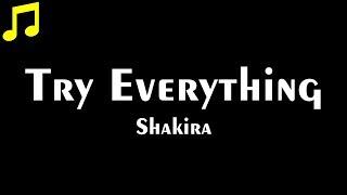 Music Catch | Try Everything - Shakira