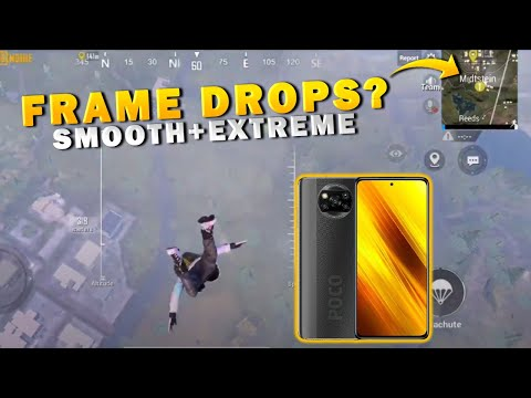 🔥POCO X3 HOT DROP LANDING TEST    SOLO VS SQUAD    60 FPS SMOOTH+EXTREME