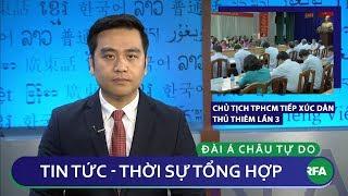 Tin nóng 24h | Chủ tịch TpHCM tiếp xúc dân Thủ Thiêm lần 3 mong được dân hợp tác