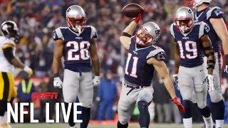 Julian Edelman facing suspension from New England Patriots   NFL Live   ESPN