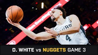 Derrick White's Highlights: 36 PTS, 5 AST, 3 STL, 1 BLK vs Nuggets First Round Game 3 (18.04.2019)