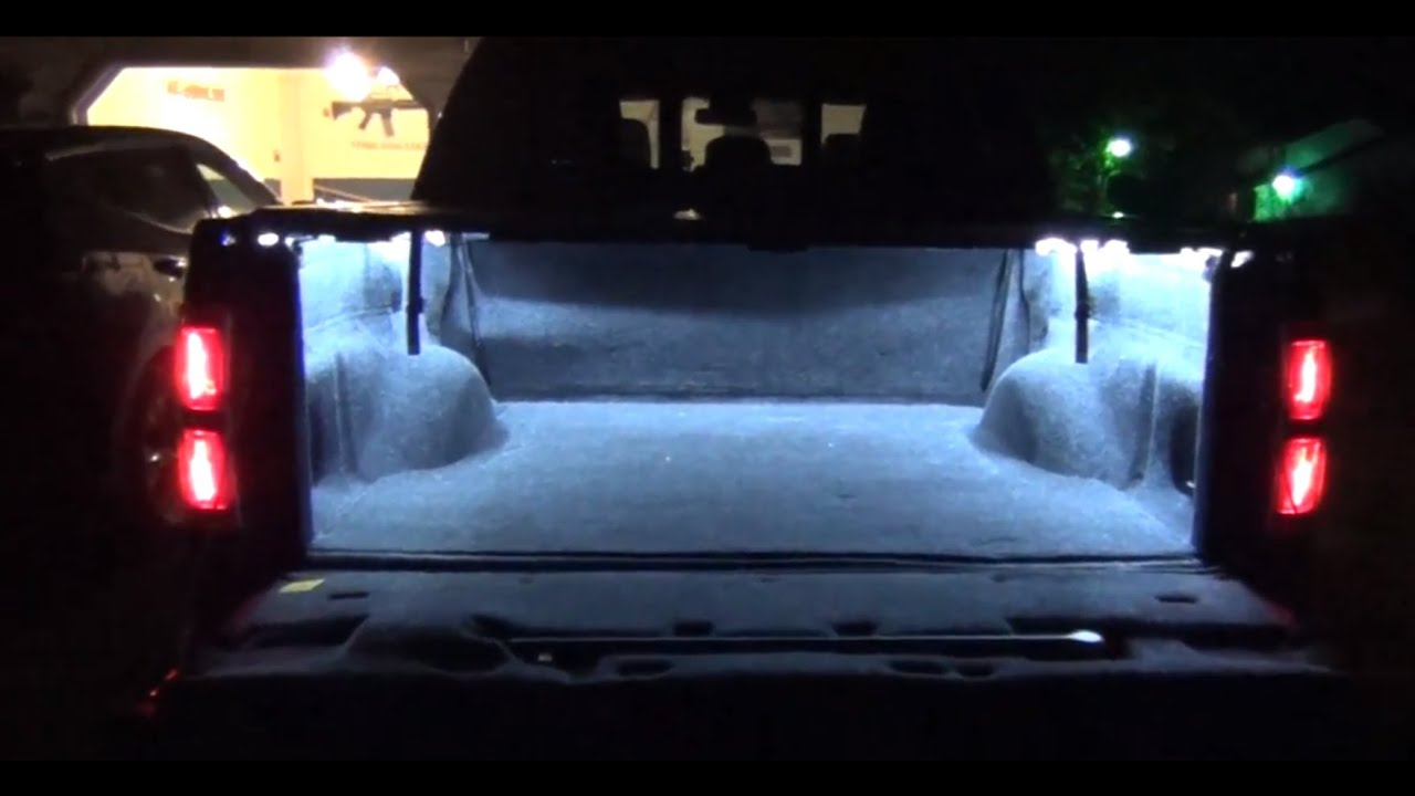 Truck Bed Lights With Led Strips Diy How To Youtube
