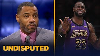 Kenyon Martin: Lakers put the 'wrong talent' around LeBron — he's not declining | NBA | UNDISPUTED