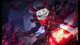 League Of Legends Bug! Thresh Lantern Trolling Teamates...