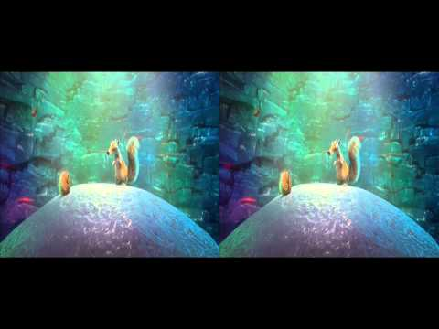 Ice Age 4 Continental Drift Trailer in 3d